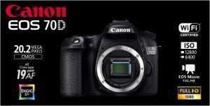 Cámara de fotos reflex CANON