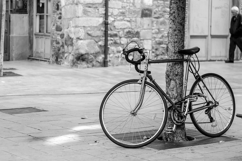 Bicicleta urbana ciudad