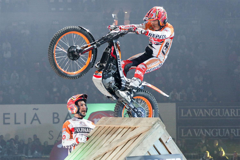 Competición de Trial en Barcelona