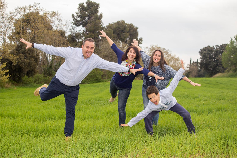 Fotografía familia comunión