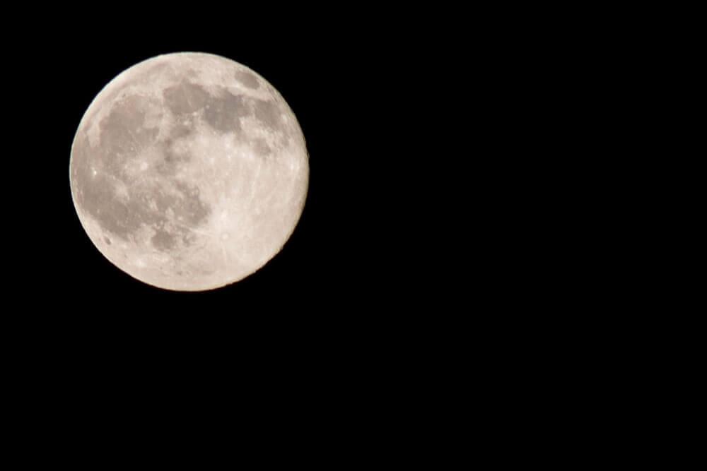 La luna de cerca