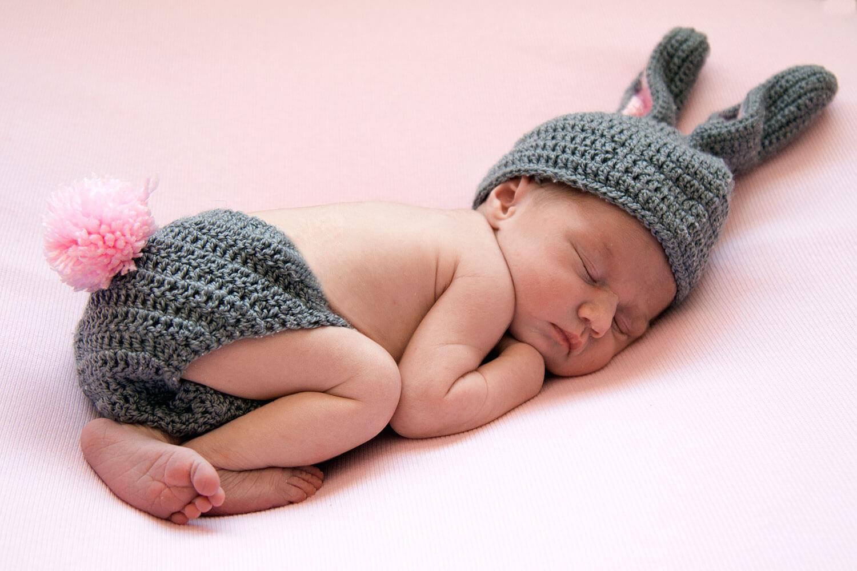 Sesión newborn durmiendo