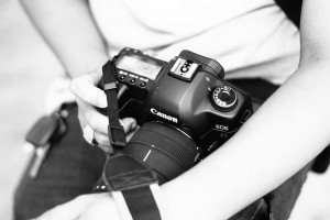 Camára de fotografía canon