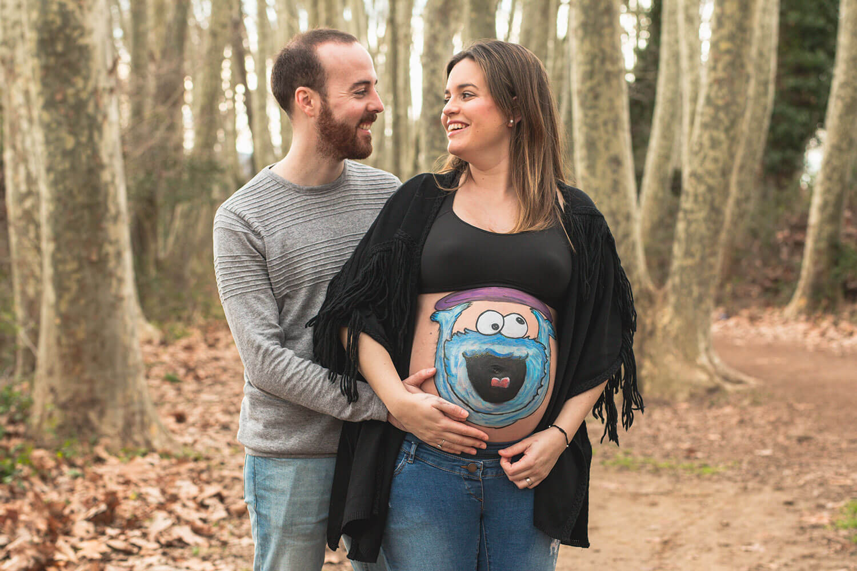 Sesión fotos embarazada Granollers