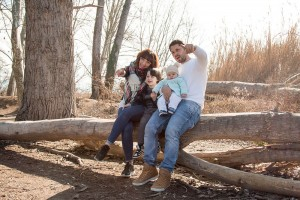 Fotografía en familia en Granollers