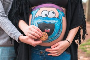 Belly painting embarazada Granollers